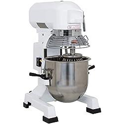 Equipementpro - Pétrin 20 Litres - Mélangeur à pâtes - pétrin à pâtes - mélangeur professionnel - batteur à oeuf