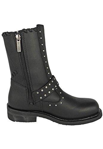 HARLEY DAVIDSON Chaussures Femmes - Bottes ABBIE - black Black