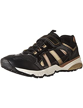 Geox J Bernie D, Zapatillas para Niñas