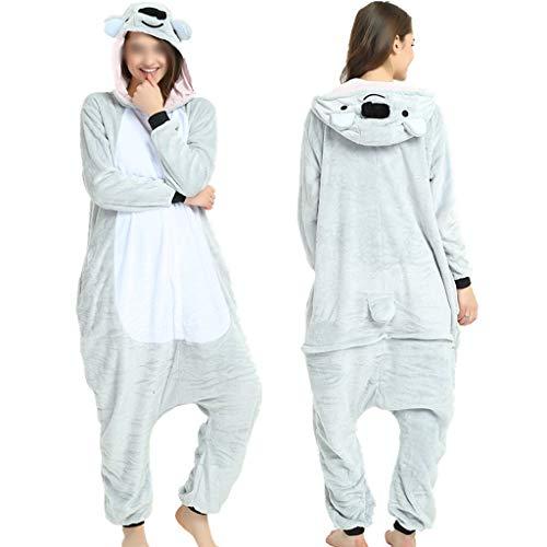 Higuo Pyjamas Siamese Child Long Section Kapuzennachtkleid Schöner Trainingsanzug Bademantel (Farbe : Koala, größe : - Koala Strampelanzug Kostüm