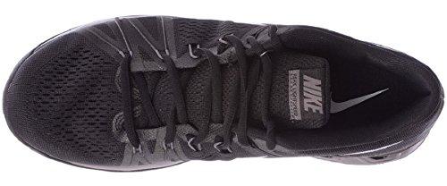 Nike - Reax Lightspeed, Scarpe sportive Uomo Nero / Grigio / Argento (Black/Mtlc Dark Grey-Anthrct)