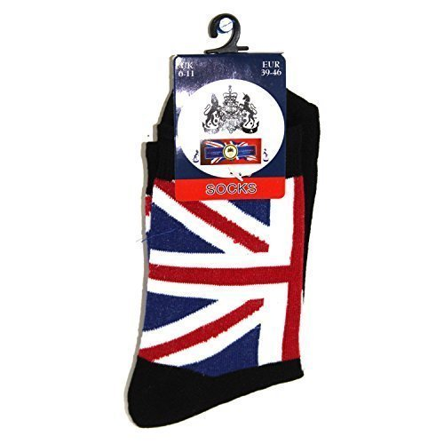 mens-union-jack-socks-size-6-11-uk-red-blue-or-black-black