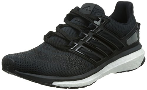 adidas Damen Energy Boost 3 Laufschuhe, Schwarz (Core Black/Dark Grey/Solid Grey), 38 EU