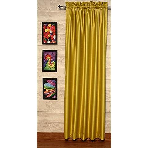 golden-olive cortinas satén de seda Dupioni sintética, elección de piezas, anchura y longitud elección con forros opacos por zappycart., 51