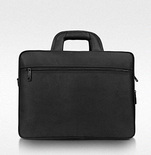 Auténtica Barato MYLL Oxford Computer Portatile Briefcase Business Leisure Shoulder Bag Messenger Black Más Reciente Para La Venta rfImqH33