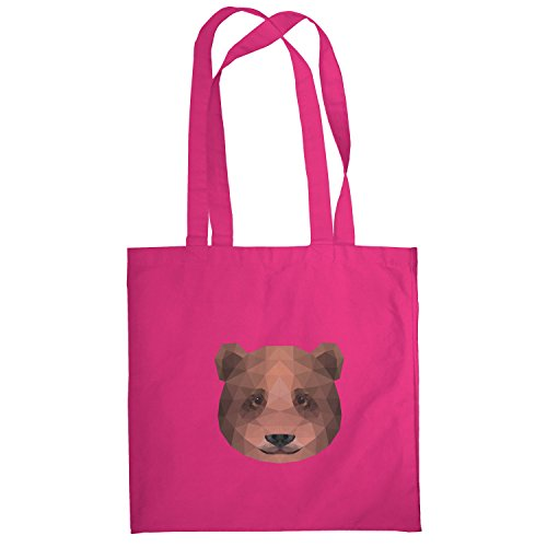 Texlab–Poligono bearface–sacchetto di stoffa Pink