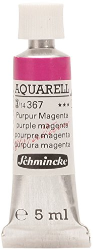 arben Aquarellfarbe Horadam Napf 1/2 Tube 5 ml 367 Purpur Magenta ()