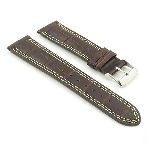 dassari-president-bande-pour-montre-en-cuir-gaufre-crocodile-brun-pour-jaeger-lecoultre-21mm-21-19