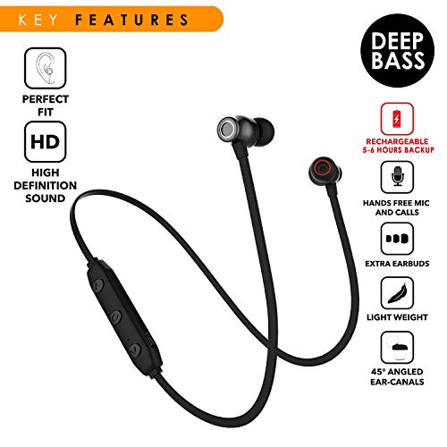 116d1f2ac11 50% OFF on WeCool BassKing X5 High Bass in Ear Wireless Bluetooth Earphones  with Mic