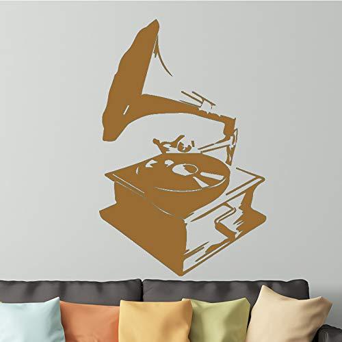 yiyiyaya Stickers muraux Décoration de la Chambre Accessoires Amovible Auto-Adhésif Décorations Murales en Vinyle Garçons Salle Décoration Murale café 43cm X 72cm