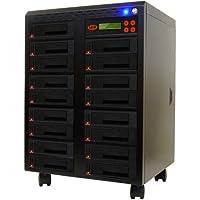 """Systor 1-16 SATA 2.5""""&3.5"""" Porta a Doppio/Sostituzione a caldo Hard Disk Drive (HDD/SSD) Duplicatore/Sanitizer"""