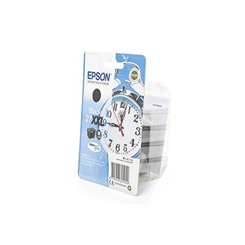 Original Tinte kompatibel zu Epson Workforce WF-7720 DTWF, 27, 27XXL, T27914010 C13T27914010 T2791 T279140, Premium Drucker-Patrone, Schwarz, 2200 Seiten, 34,10 ml