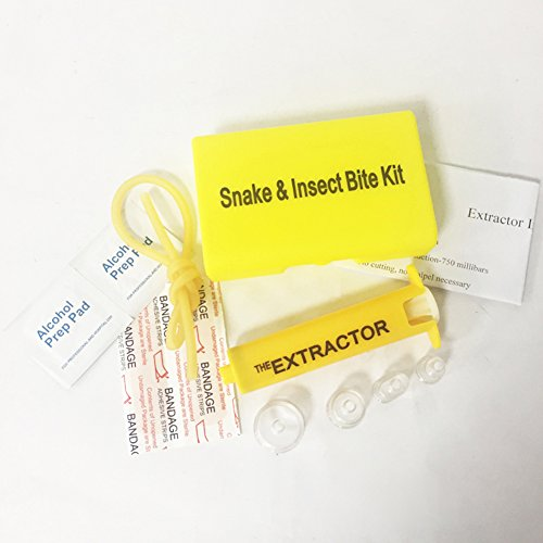 Byjia Venom Extractor Pump Kit Gift-Entferner Sets Notfall Erste-Hilfe-Zubehör Für Backpacking Und Camping Remover Schlangen Und Insekten Bites,Yellow,1Pcs (Notfall Erste Hilfe Versorgung)