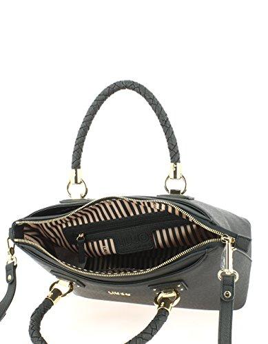 LIU.JO Donna Borse A18103E0499 M SATCHEL MANHATTAN schwarz, schwarz