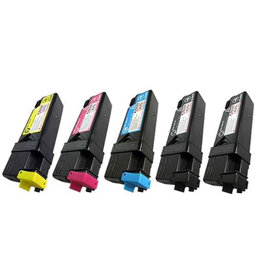 doitwiser-r-xerox-phaser-6125-6125n-confezione-da-5-cartucce-di-toner-compatibili-106r01331-106r0133