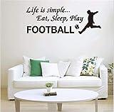 autocollant mural stickers muraux chambre Peut être adapté aux besoins du client Ebay éclats de football salon chambre canapé fond murale vert