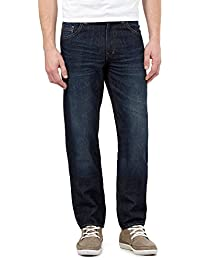 Red Herring Blue Mid Wash Straight Jeans