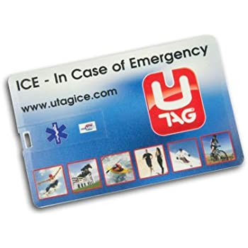 UTAG Clé USB d'urgence en forme de carte de crédit
