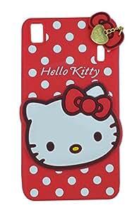 Cantra 3D Designer Hello Kitty Back Cover For Lenovo A7000 & Lenovo K3 Note - Red