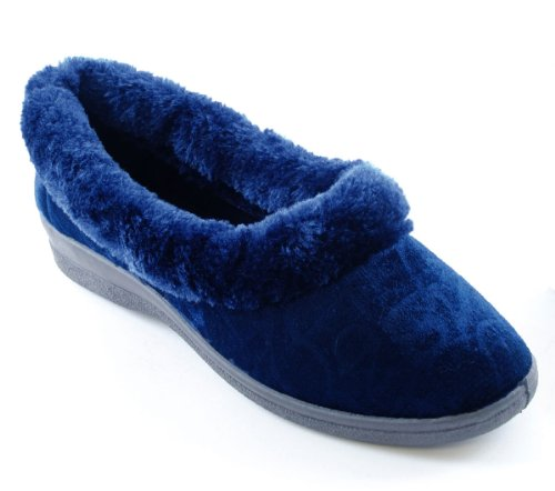 Slumberz, Pantofole donna Blu (blu scuro)