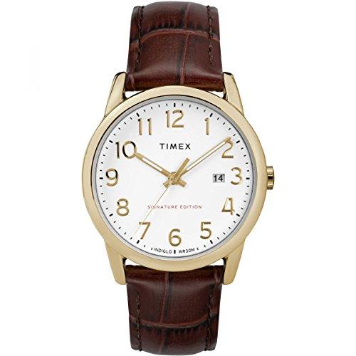 Timex Orologio Analogico Automatico Unisex Adulto con Cinturino in Pelle TW2R65100