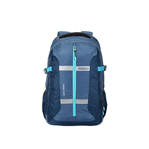 American Tourister Fabric Blue Backpack