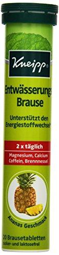 Kneipp Entwässerungs-Brause, 20 Brausetabletten, 8er Pack (8 x 84g)