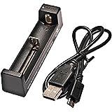 Xtar USB Reise 1 Schacht Ladegerät  MC1 für Li-Ionen 10440 - 26650