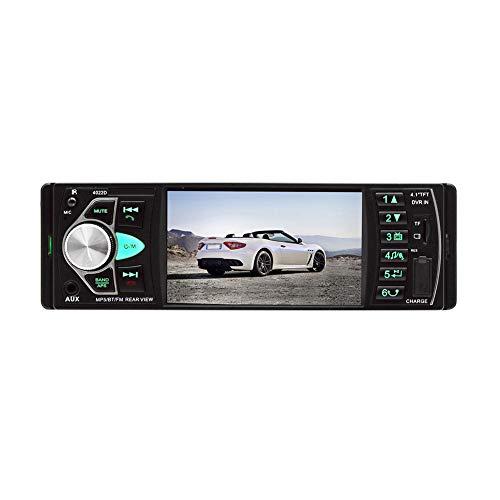 housesweet Auto Auto Stereo 1 Din in Dash, AM FM Autoradio Bluetooth Audio-Unterstützung USB, SD-Karte, AUX in, mit Fernbedienung