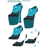 Zapatos de plataforma de tacón con 4por Mary Jane Harris