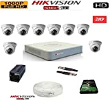Best K&H Looking Phones - HIKVISION Full HD 2MP Cameras Combo KIT 8CH Review
