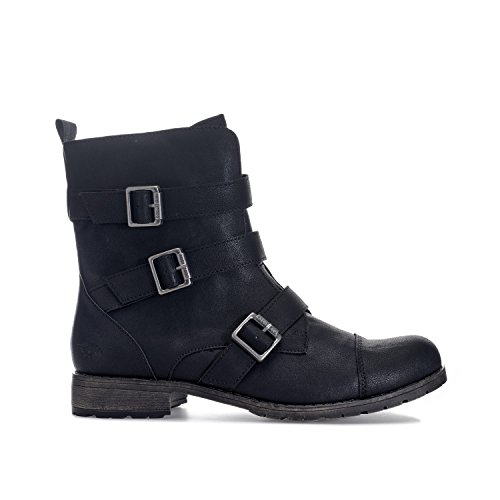 Womens Rocket Dog Womens Bester Lewis Boots in Black - UK 5