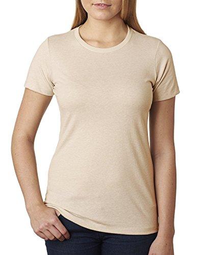 Next Level - T-shirt - Femme Beige - Crème