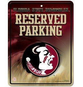 Unbekannt NCAA Abonnements Metall Parken Schild, Florida State Seminoles -