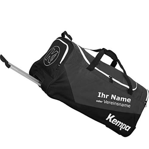 Kempa Sporttasche Trolley Teamline L 90 L Größe 74 x 36 x 36 cm + Aufdruck Name