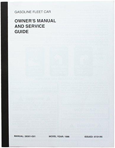 E-Z-GO EzGo 28301G011996Eigentümer Manuelle und Service Guide für Gas TXT Fleet Cars