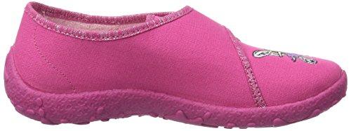 Beck Mädchen 622 Fuchsia fuchsia Pink Dancing Girl Hausschuhe qITrdw4qx
