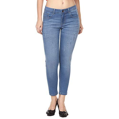 Broadstar Premium Denim Super Skinny Fit Women Blue Jean