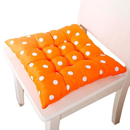 Oyedens Mode Home-Office-Quadrat Weicher Baumwolle Polka Dot Sitzkissen Stuhlkissen (Polka-dot-möbel)