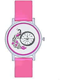 Swadesi Stuff New Arrival Cute Peacock Multicolour Stylish Analog Watch - For Girls & Women