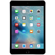 Apple MK862B/A iPad Mini 4 64GB 7.9in 8MP Wi-Fi Tablet in Space Grey (Renewed)