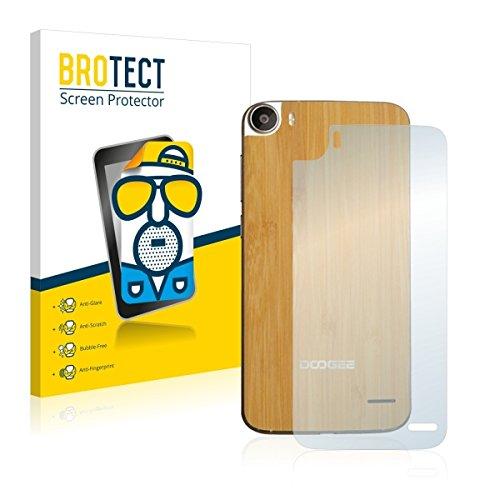 2X BROTECT Matt Bildschirmschutz Schutzfolie für Doogee F3 Pro (Rückseite) (matt - entspiegelt, Kratzfest, schmutzabweisend)