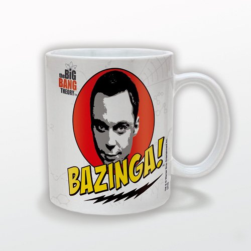 Big Bang Theory - Tasse Bazinga