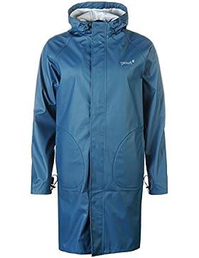 Gelert–largo Longitud Chaqueta Impermeable Unisex adultos verde chaquetas abrigos Outerwear, verde, small