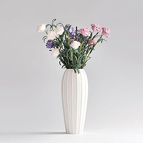 Lbcvh Super Star con decorazioni in stile minimalista con vasi di ceramica desktop nella decorazione della casa accessori E 3 Perla Rose (viola) Biossido di titanio