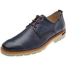 Altet M4k, Zapatos de Cordones Derby para Hombre, Marrón (Cuero), 42 EU Pikolinos