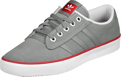 Adidas-basketball-schuh Rot (adidas Herren Kiel Basketballschuhe, Grau/Rot/Weiß (Grpuch/Escarl/Ftwbla), 44 EU)