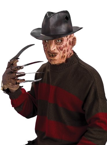 Rubie's Kostüm für Erwachsene, Freddy Krüger aus Nightmare on Elm Street mit Filzhut, Einheitsgröße, multicolor