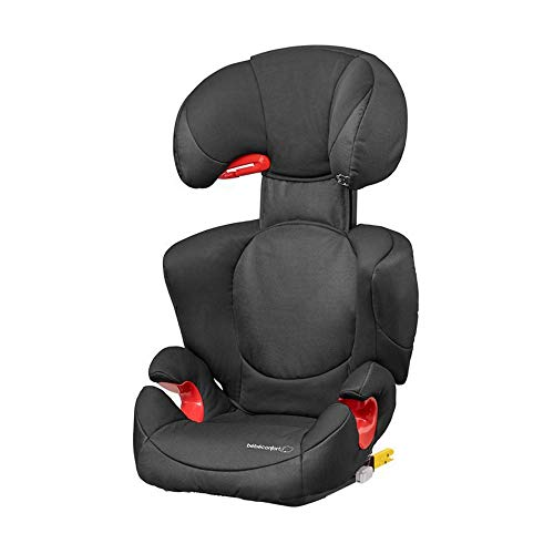 Bébé Confort Rodi XP, Siège-Auto Groupe 2/3 (15 à 36 kg), Avec Système De Protections Latérales, de 3,5 à 10 ans, Night Black
