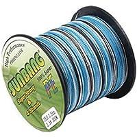 Bodbii PE línea Trenzada Resistente a la abrasión Líneas Camuflaje Trenzado Cometa más pequeña del Cable de Diámetro